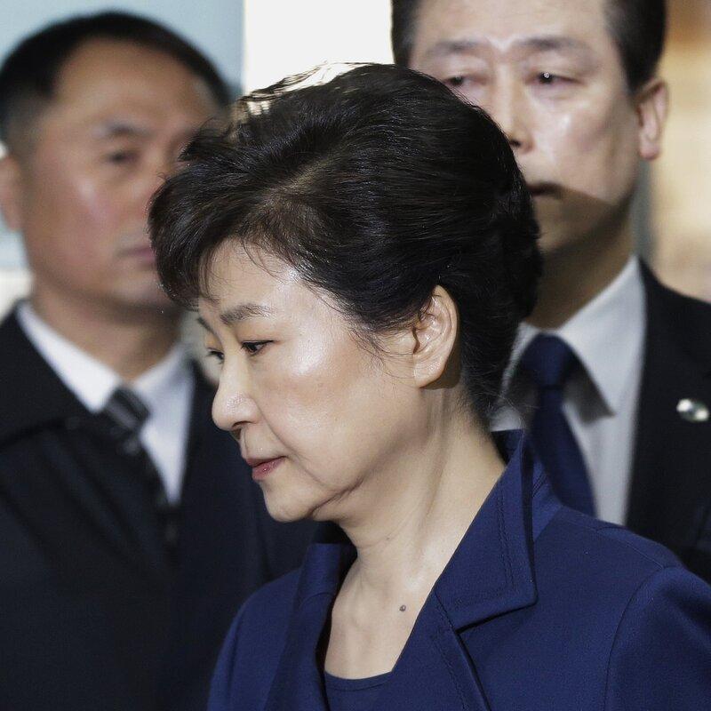 Former South Korea President Sentenced To 8 More Years In Prison : NPR
