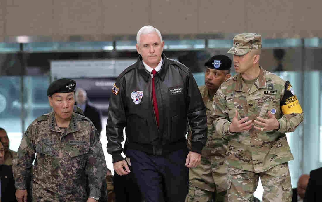 Pence says still