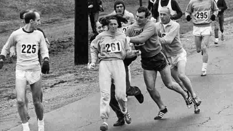 First Woman To Wear A Boston Bib Races Again, 50 Years Later