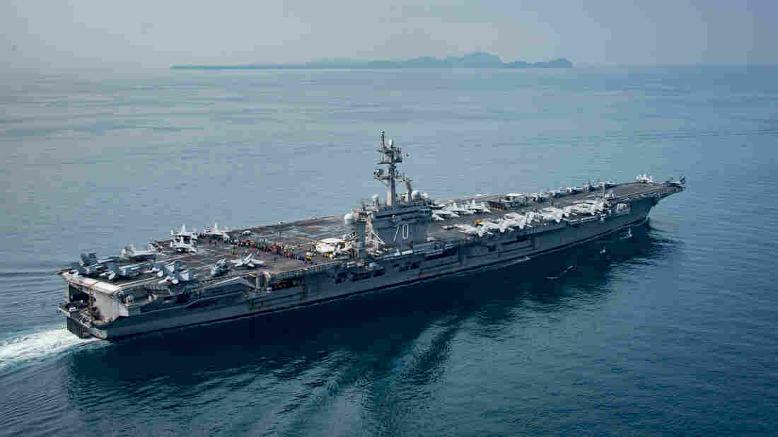 North Korea says it's ready to sink USA aircraft carrier