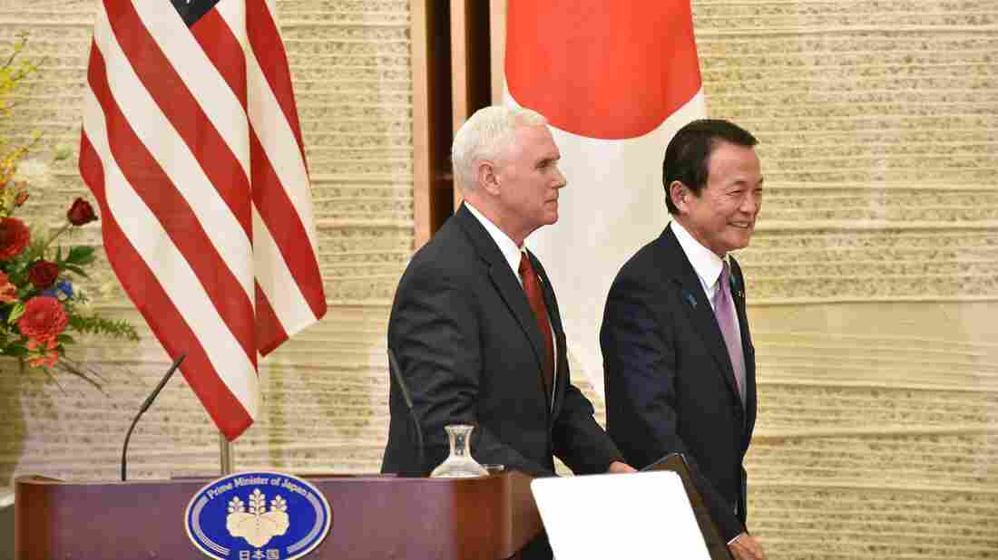 Pence says US set on ensuring nuclear-free Korea