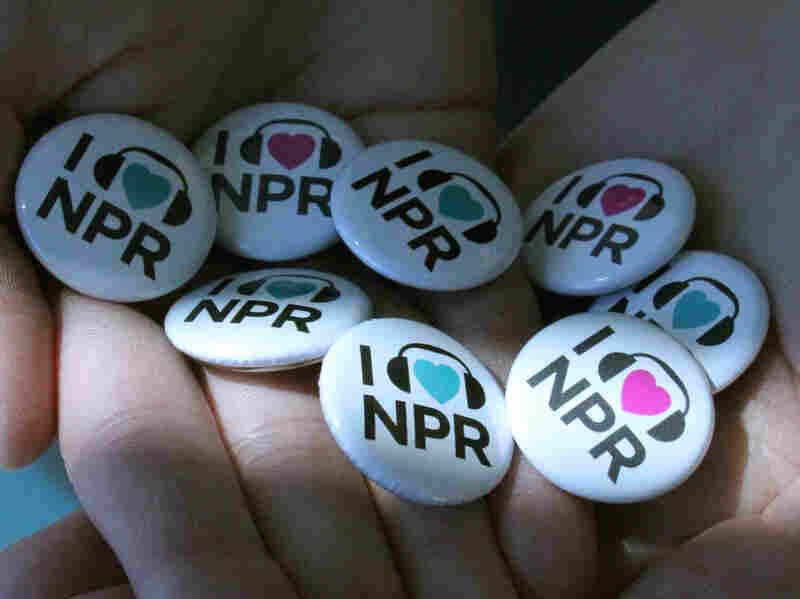 I Love NPR Buttons.