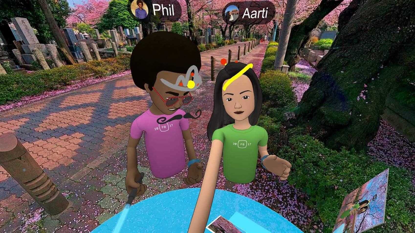 Facebook Launches Social VR App 'Facebook Spaces' in Beta for Rift