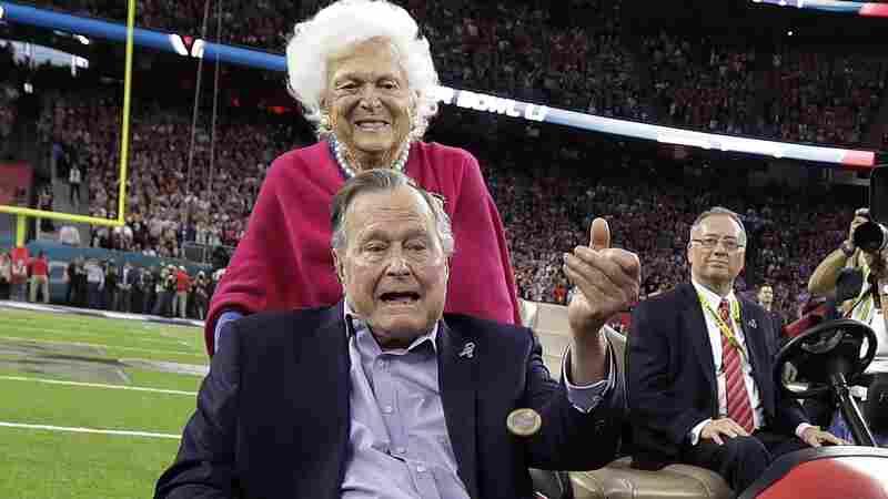 George H.W. Bush Treated At Houston Hospital For Pneumonia