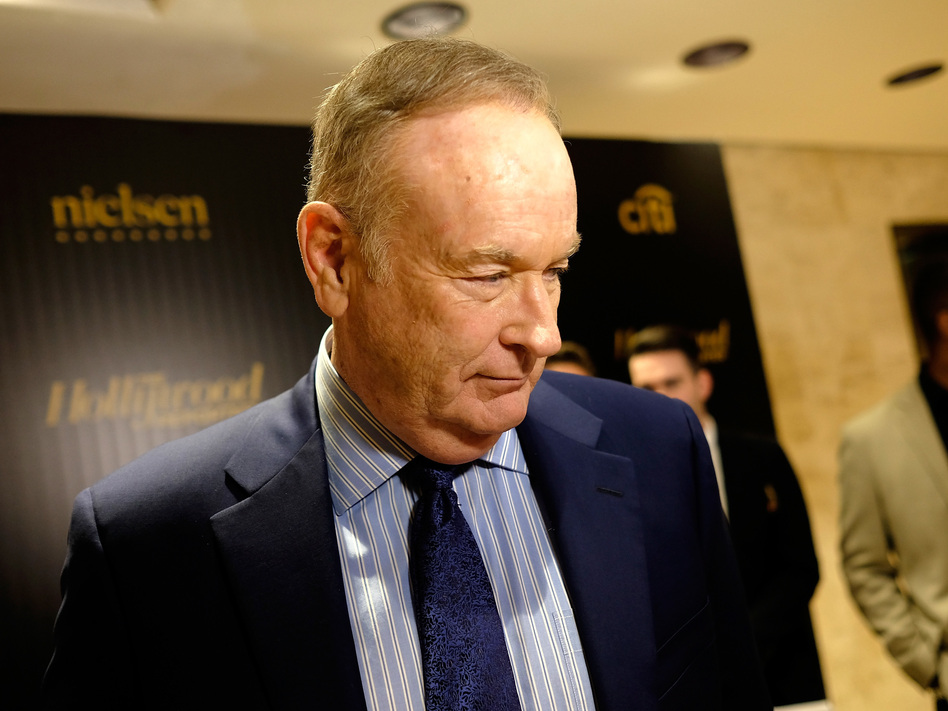 Bill O'Reilly attends a 2016 ceremony held by <em>The Hollywood Reporter</em> in New York City. (Dimitrios Kambouris/Getty Images for Hollywood Reporter)