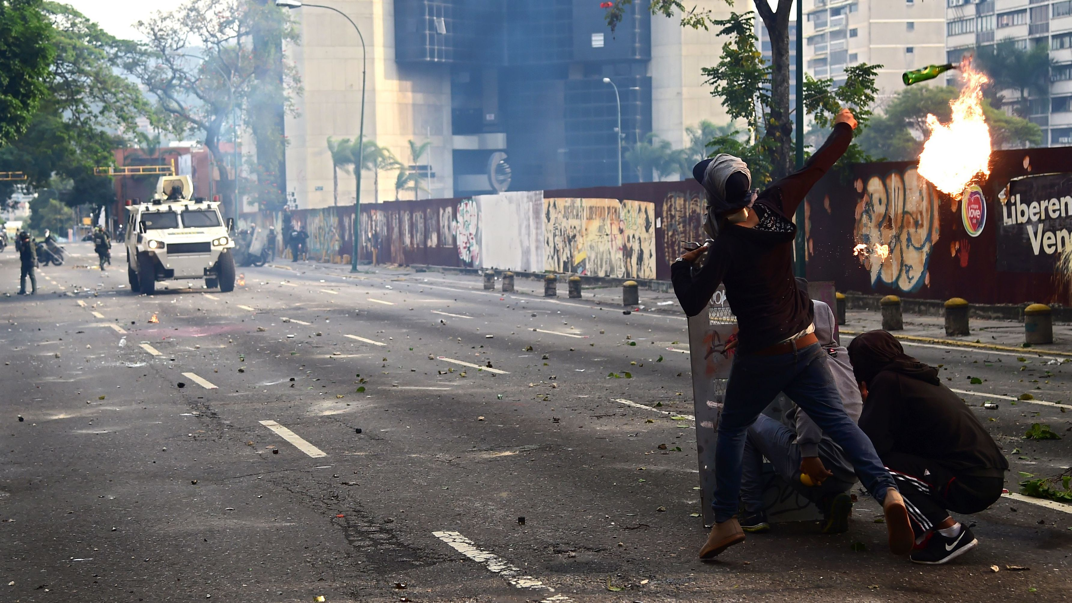 Killed at Anti-Government protests in Venezuela
