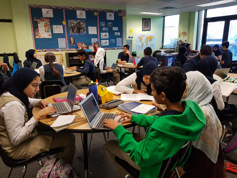 This Islamic School Helps Students Build Their American And