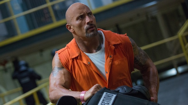 Dwayne Johnson stars as Hobbs in The Fate of the Furious.