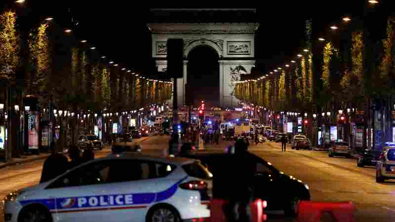 1 Officer Killed, 2 Wounded In Shooting On Paris' Champs Elysees