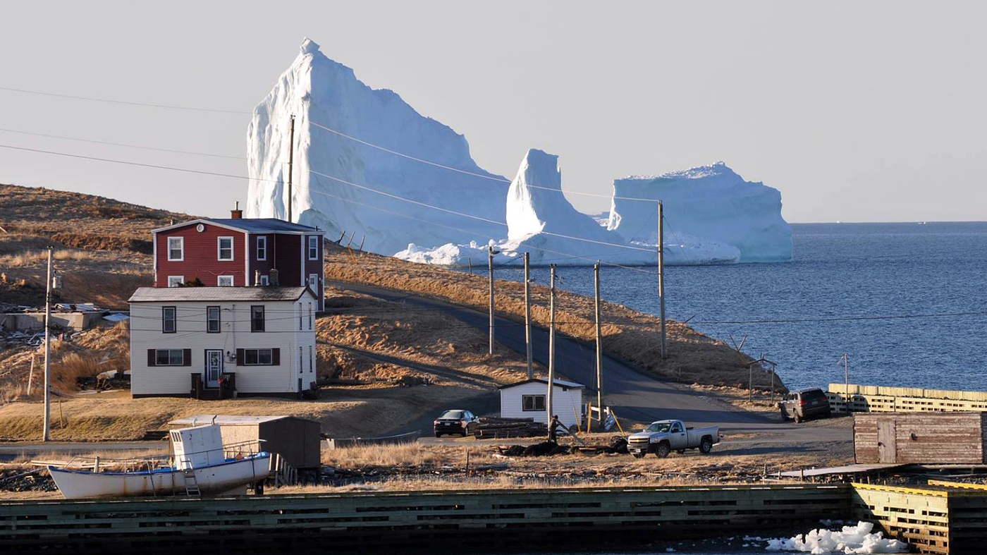 Massive Iceberg Makes A Stop Off Newfoundland Coast : NPR