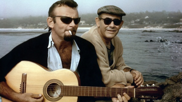 Bert Berns (left) and Jerry Wexler (right) wrote The Drifters