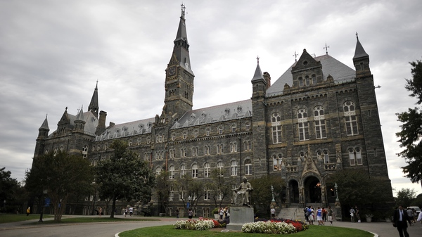 Healy Hall, the flagship building of Georgetown University