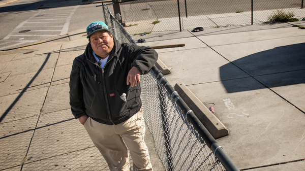 Jose Cedillo, a 41-year-old former restaurant worker from Honduras, struggles to get health care for his diabetes. He often finds himself without a job and homeless on the streets of Baltimore.