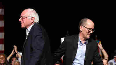 Sanders' Unity Tour With DNC Chair Exposes Rifts But Also Suggests Common Goals