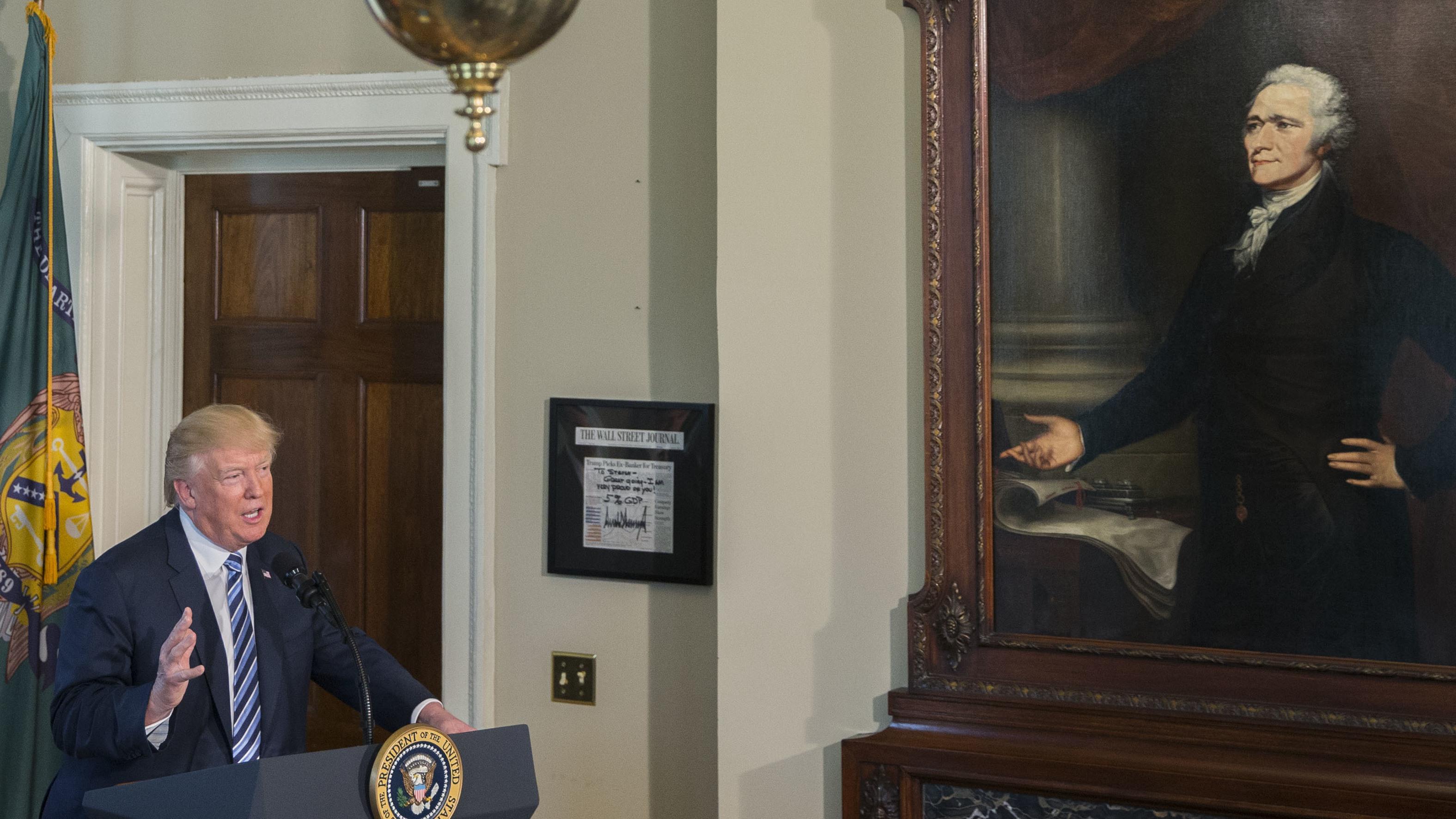 npr.org - Domenico Montanaro - Trump's First 100 Days: An 'Entry-Level' Presidency