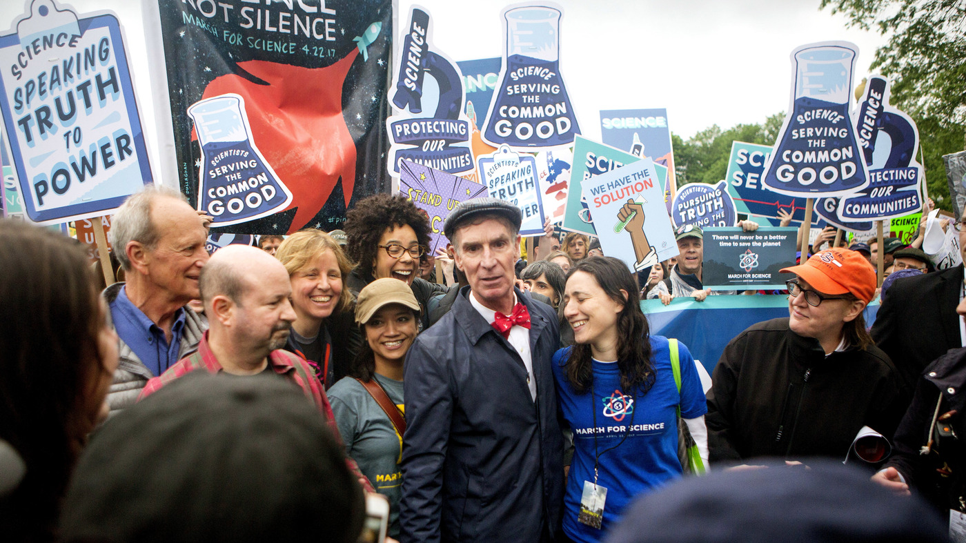 In A New 'Anti-Science' Era, Bill Nye 'Saves The World' With Same Optimism