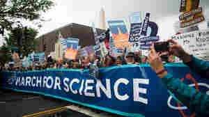 PHOTOS: Scientists Take To Washington To Stress A Nonpartisan Agenda