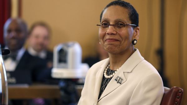 Police have distributed a poster asking for information, accompanied by a picture of Justice Sheila Abdus-Salaam, photographed in 2013, dressed in a cream-colored jacket and pearls with wire-rimmed eyeglasses.