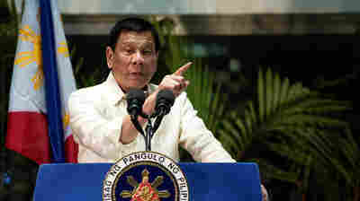 Lawyer In Philippines Accuses President Duterte Of Crimes Against Humanity