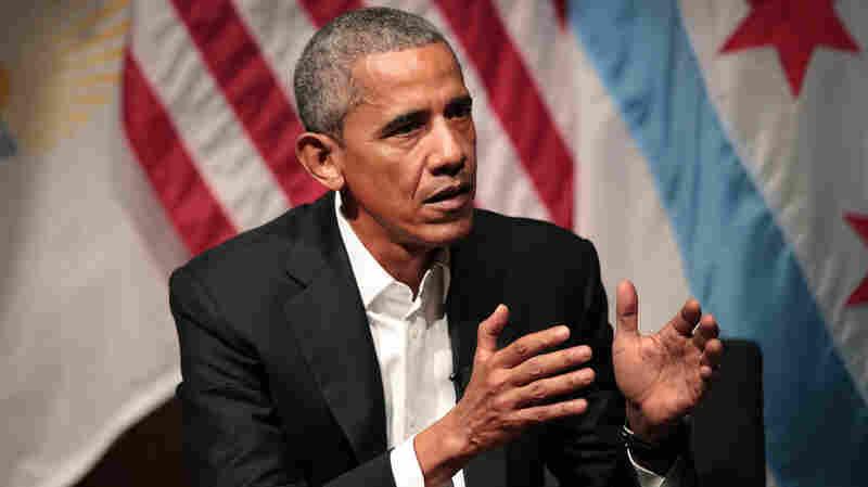 Obama Returns To Public Stage, Encouraging Next Generation To 'Take Up The Baton'