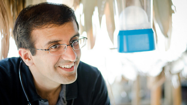 Raj Panjabi knows what health care can be like in a developing country. As a boy in Liberia he never had his eyes checked. When he came to the U.S. at age 9, he found out he had 20/80 vision.