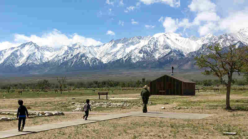 Walking In Their Footsteps At A Former Japanese Internment Camp