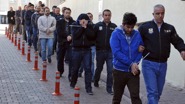 Turkey Arrests More Than 1,000 In Massive Purge Of Its Police Forces