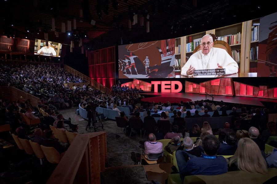 Resultado de imagen de pope francis ted talk