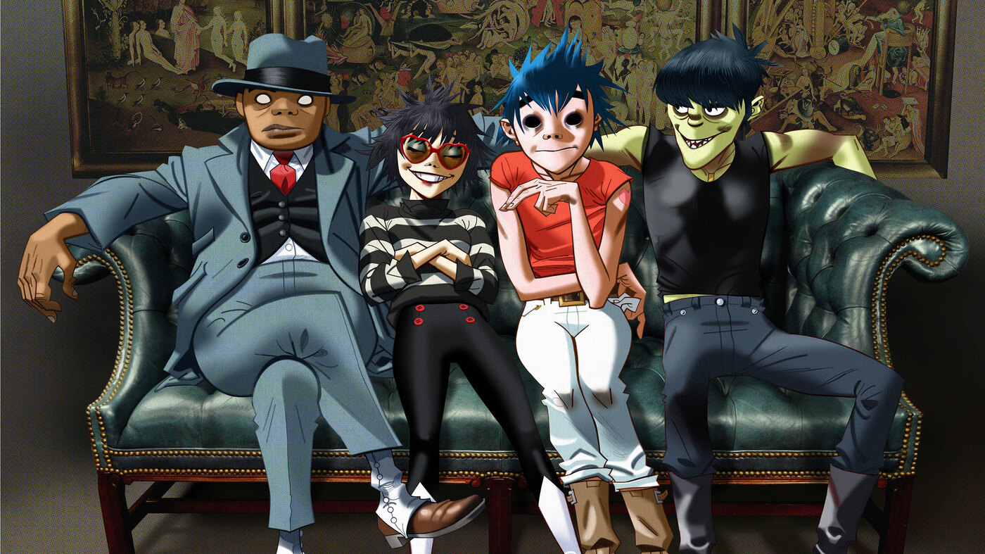 Image result for gorillaz band in real life