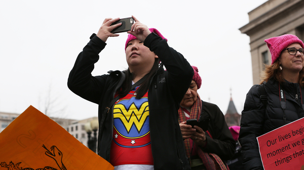 100 Days In, Women's March Still Inspires. But Can The Enthusiasm Hold?