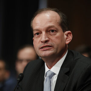 Acosta Confirmed As Labor Secretary, First Latino Member Of Trump ...