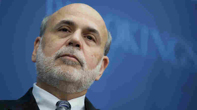 In His Post-Fed Life, Bernanke Talks Taxes, Trump And Partisan Perceptions