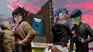 Gorillaz Performs 'Humanz' Tracks Live On World Cafe