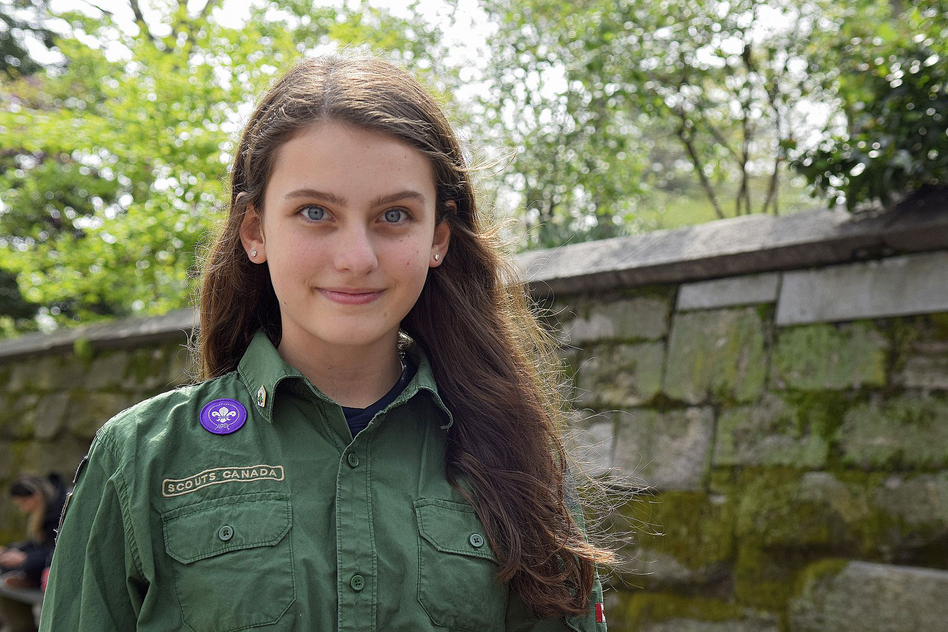 meet the teenage girl who wants to be a boy scout wbur news