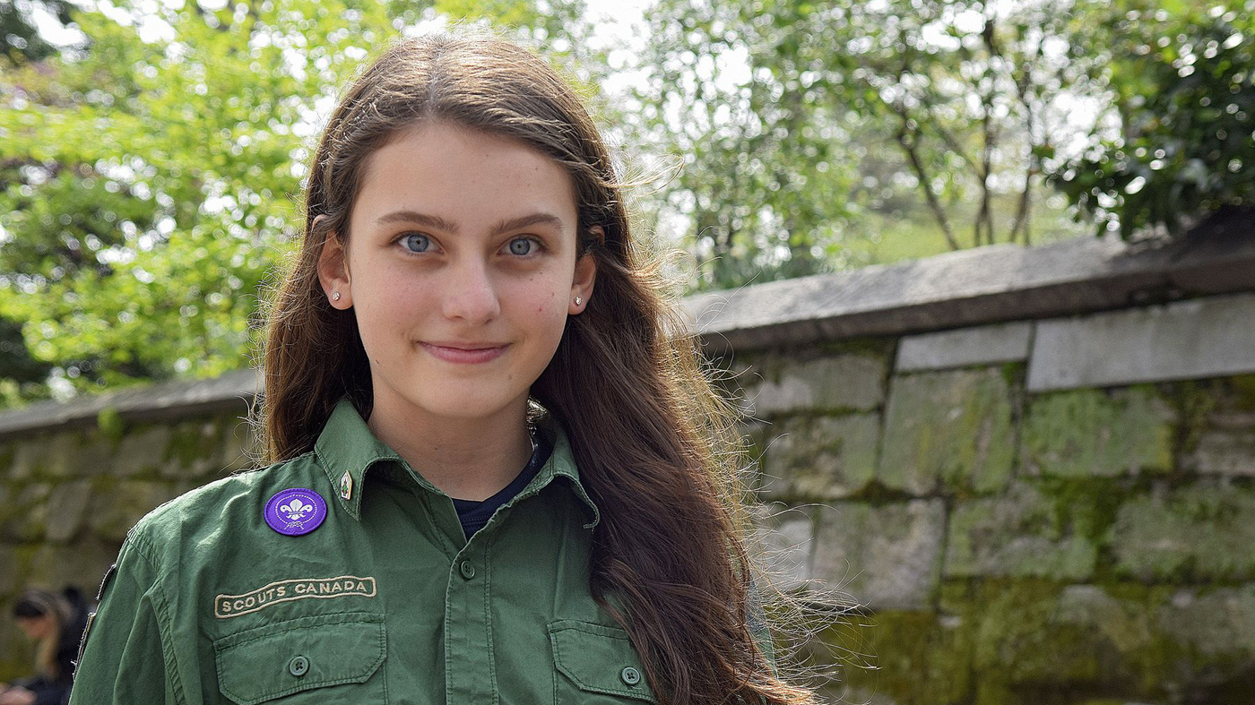 meet the teenage girl who wants to be a boy scout npr