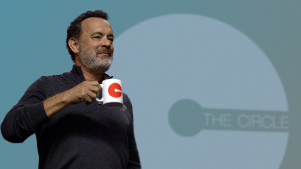 Tom Hanks stars in The Circle as a tech CEO who is part Steve Jobs and part Mark Zuckerberg.