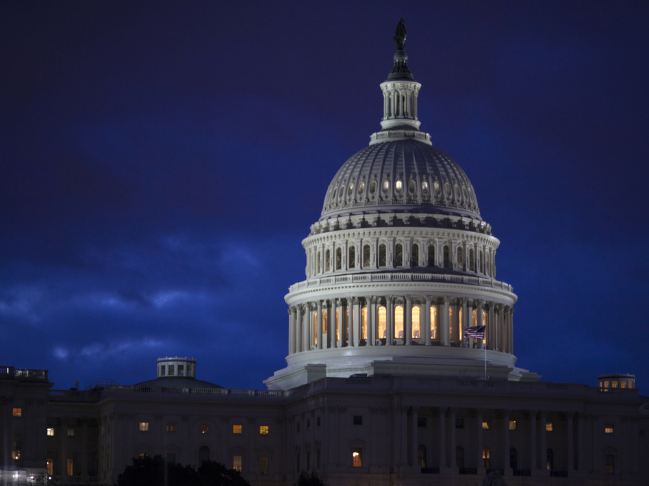 The House and Senate have until midnight Friday to pass the spending deal to keep the federal government funded. (J. Scott Applewhite/AP)
