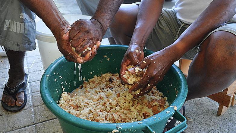 what foods did slaves eat