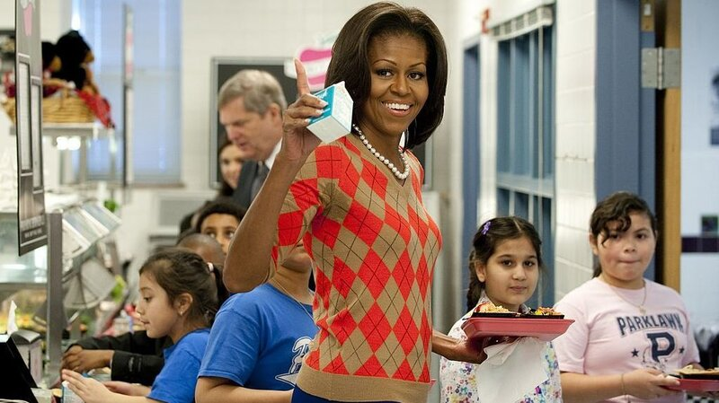 Michelle Obama's School Lunch Rules Rolled Back By White