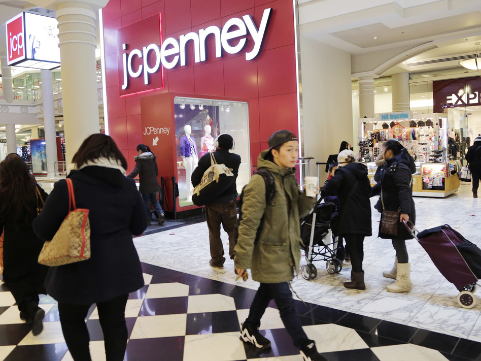 J.C. Penney is among several chains that have announced plans to close stores this year. (Mark Lennihan/AP)