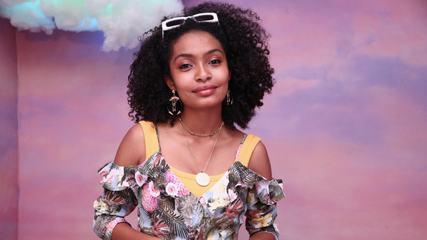 Yara Shahidi has to navigate complex racial issues both inside and outside the world of Black-ish.