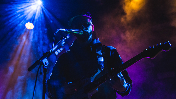 Portugal. The Man performing live at World Cafe Live in Philadelphia.