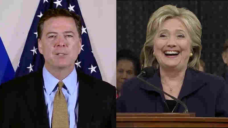 WATCH: James Comey And Hillary Clinton Get Remixed In Email Mashup Video