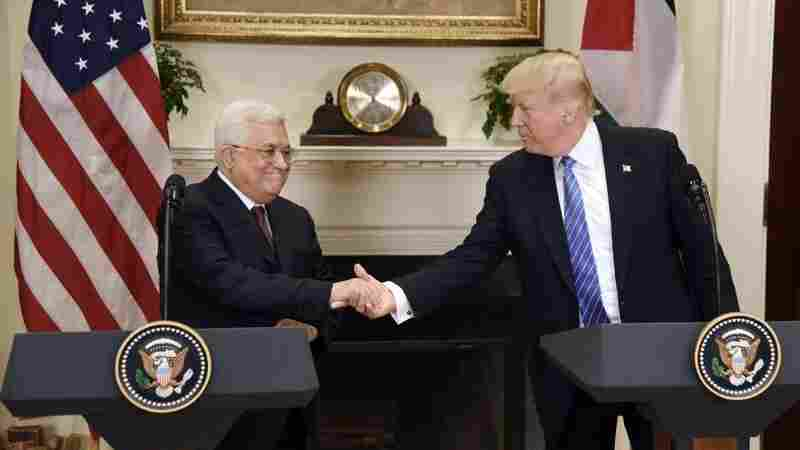 Trump Says He Wants To Help Mediate Israeli-Palestinian Peace Deal