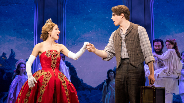 Christy Altomare and Derek Klena star in the stage adaptation of the 1997 Fox animated film Anastasia.