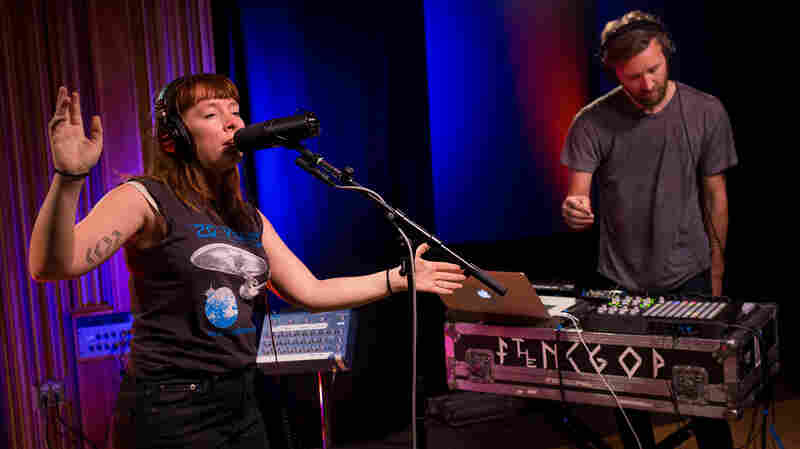 Watch Sylvan Esso Perform 'Radio' — On The Radio