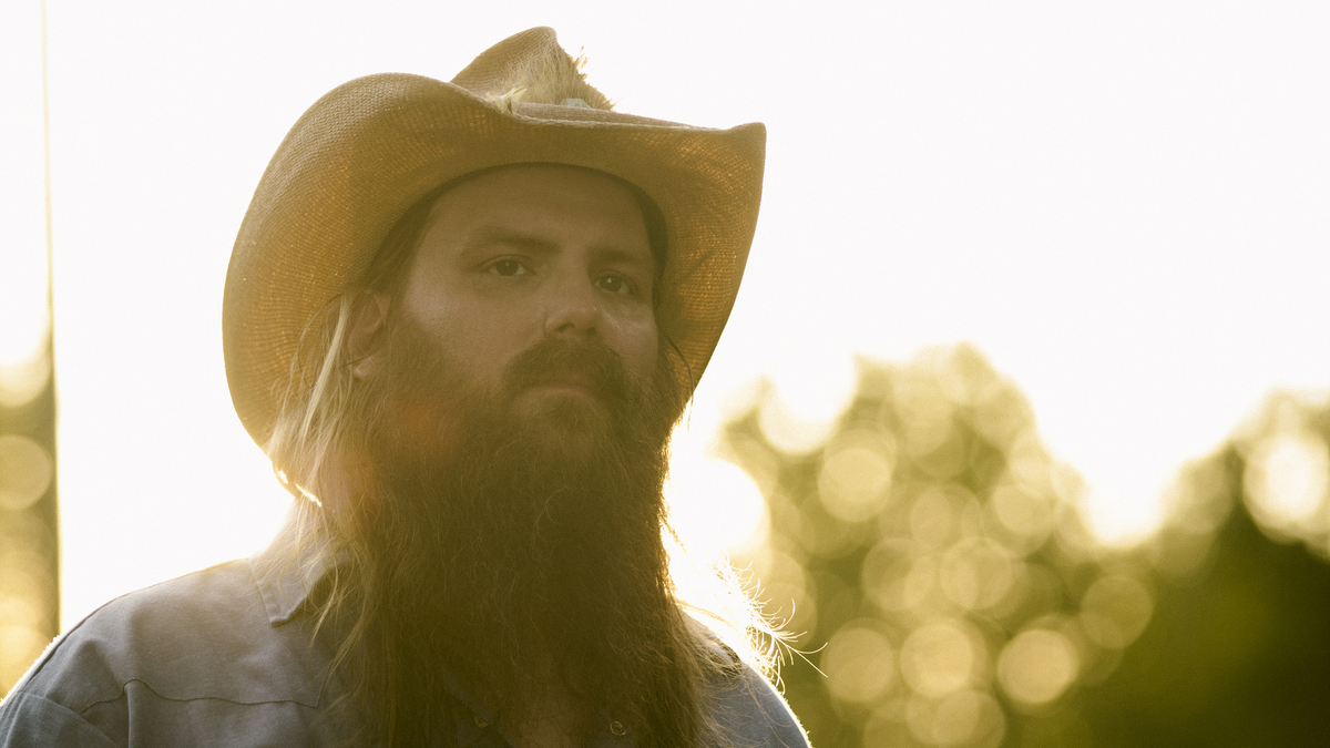 Chris Stapleton And His Wife Morgane Reach Into Their