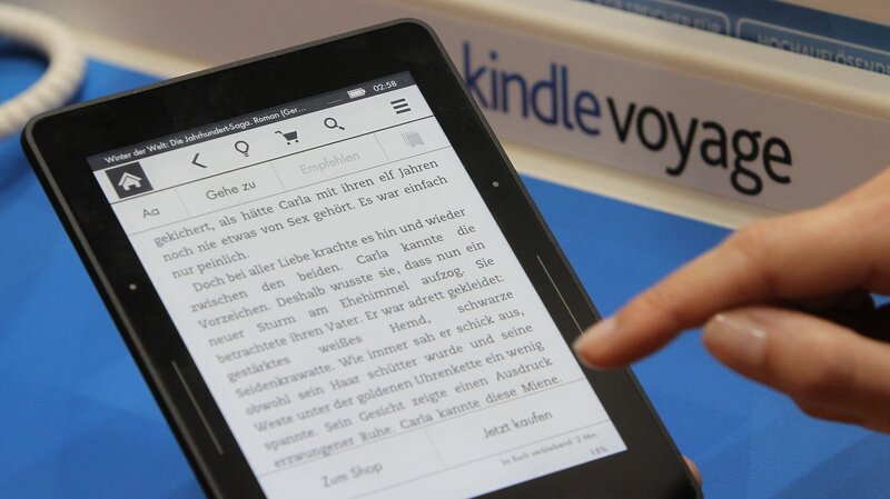 EU Drops Its Antitrust Probe Over Amazon E-Book Contracts : The Two ...