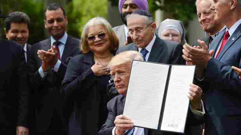 On Religious Liberty, Trump's Executive Order Doesn't Match Rhetoric