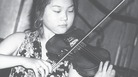 Min Kym is shown at her debut recital at the Serenates D'Estiu Festival in Majorca in July 1992.